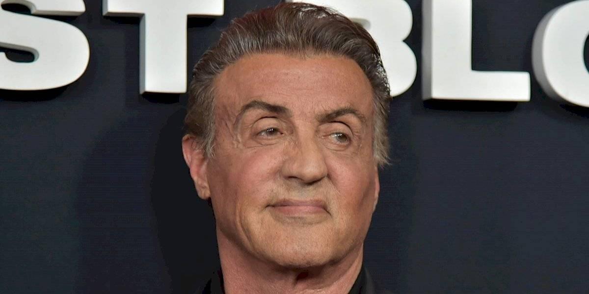 Sylvester Stallone decidió liberar sus canas