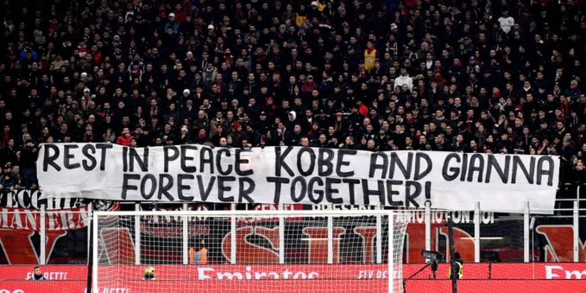 VIDEO. El afectivo homenaje que le rinde el Milan a Kobe Bryant antes de un partido
