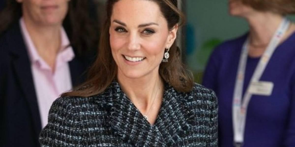 Kate Middleton confesó que estaba