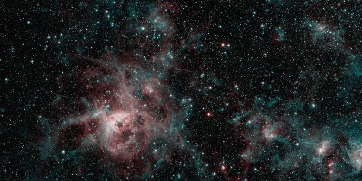 Nebulosa em formato de tarântula captada pelo observatório Spitzer intriga cientistas da NASA