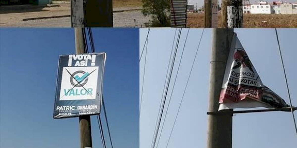 Sancionarán a partidos políticos por no retirar propaganda en Quetzaltenango