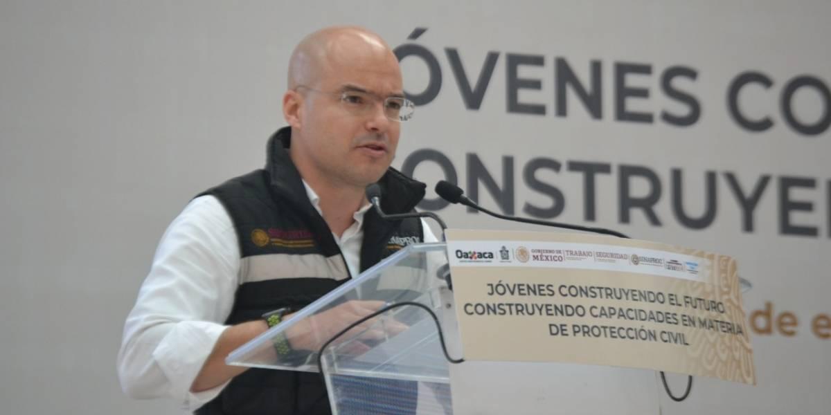 Protección Civil entrega resultados de Jóvenes Construyendo el Futuro en Oaxaca