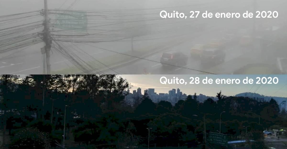 Niebla/Radiación en Quito