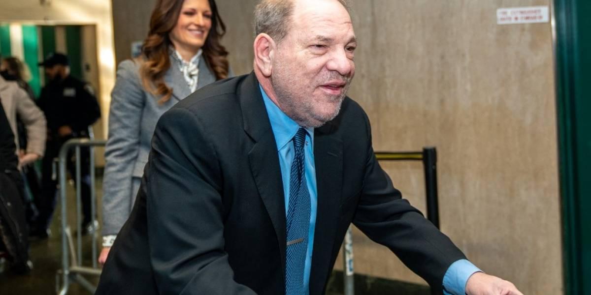 Las mujeres de Hollywood dan primeras reacciones a la condena de 23 años de cárcel a Harvey Weinstein
