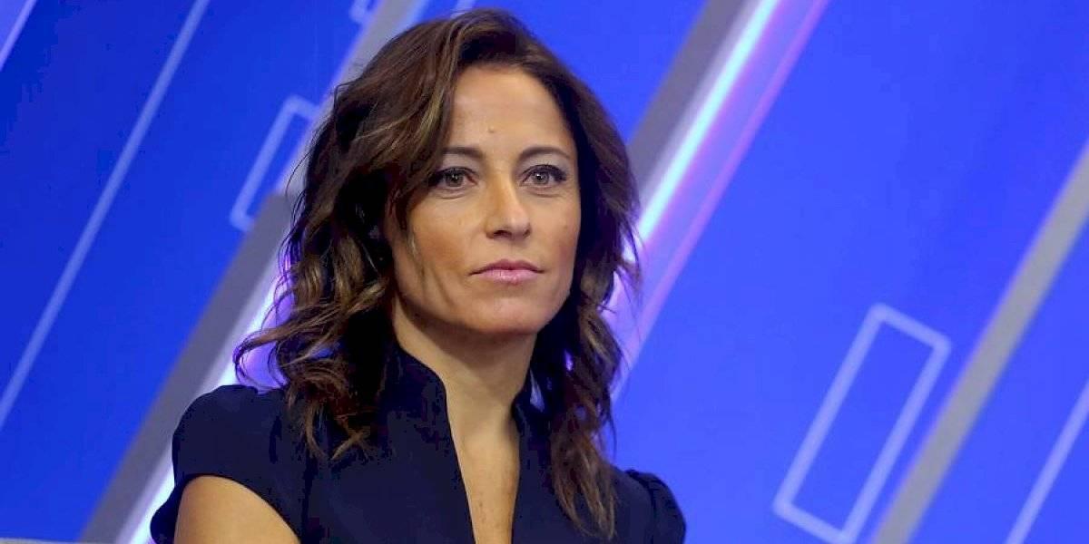 Así con la grúa de la TV: Constanza Santa María llega a TVN y conducirá noticiero central con Iván Núñez