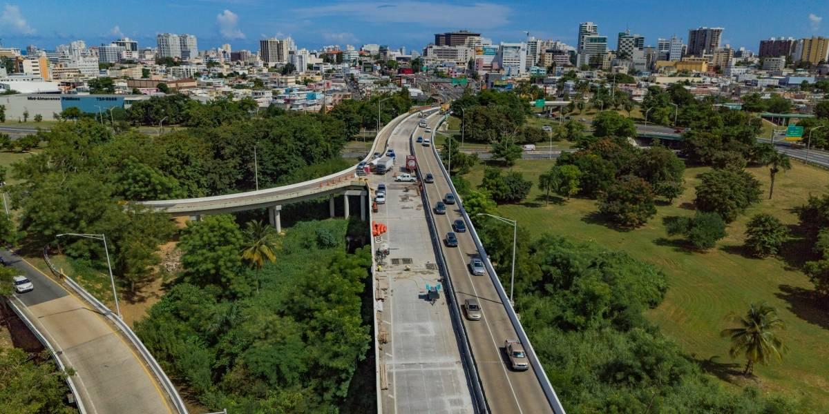 Se abre este lunes un carril adicional del puente sobre el Caño Martín Peña