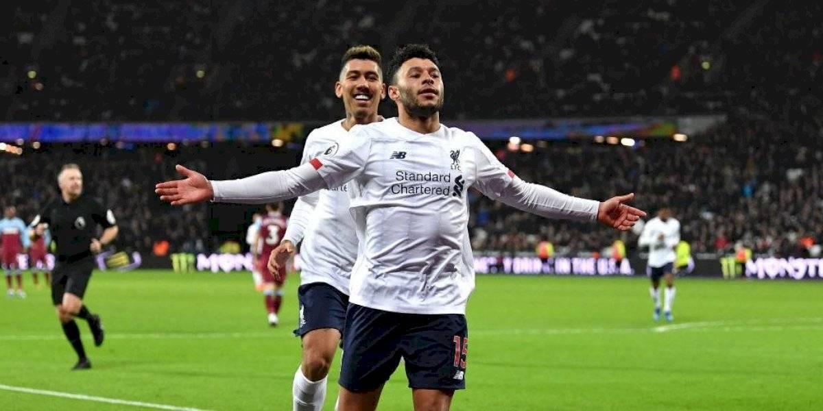 Liverpool sigue intratable y vence al West Ham
