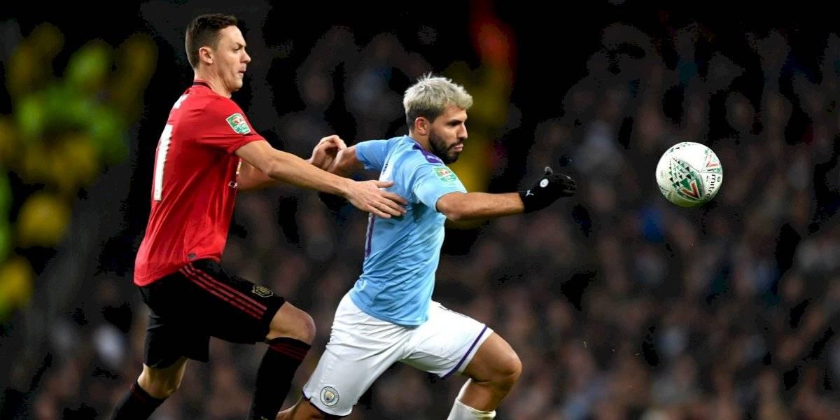 Manchester City elimina al United en Copa