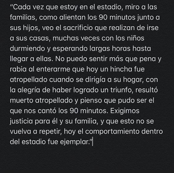 Instagram de Nicolás Maturana