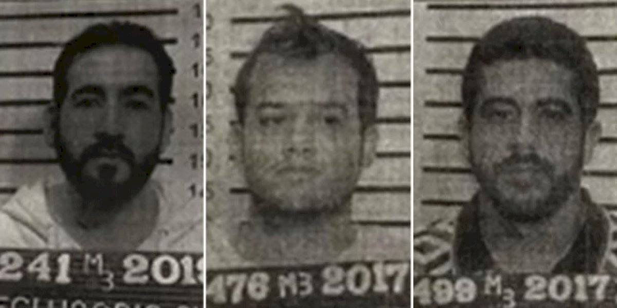 ¿Quiénes son los 3 reos que se fugaron del Reclusorio Sur?
