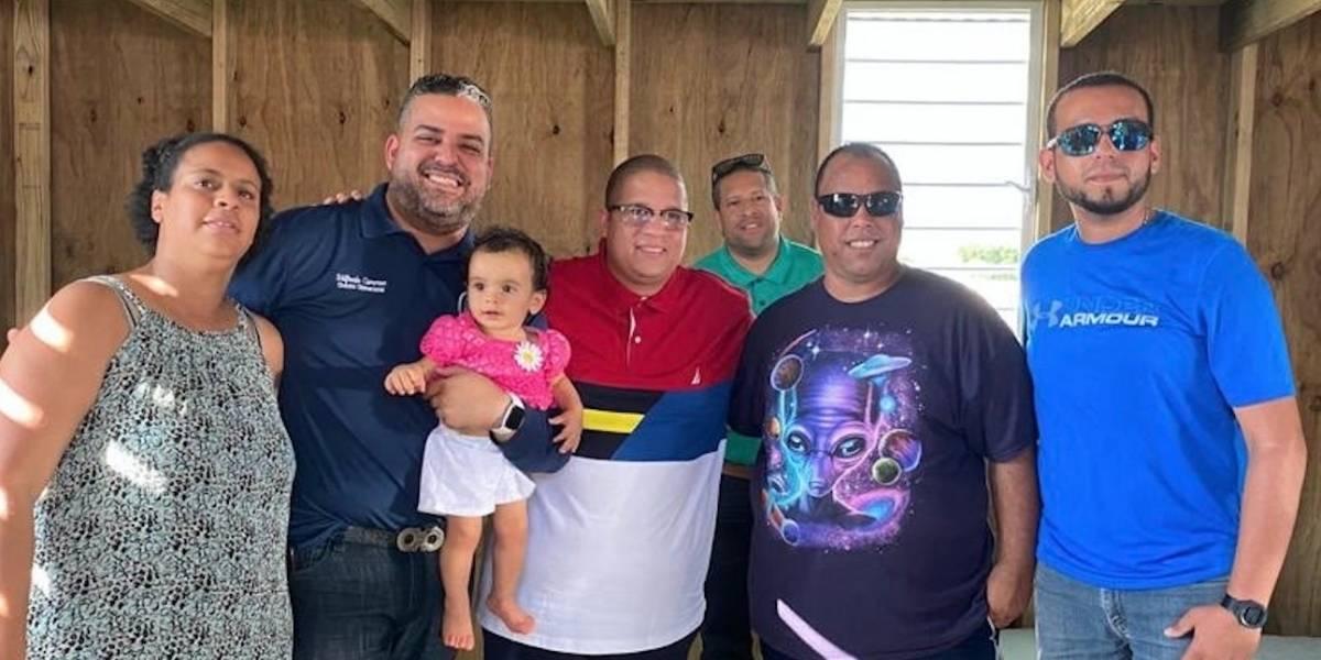 Héctor Delgado ofrece hogares provisionales a cuatro familias del sur