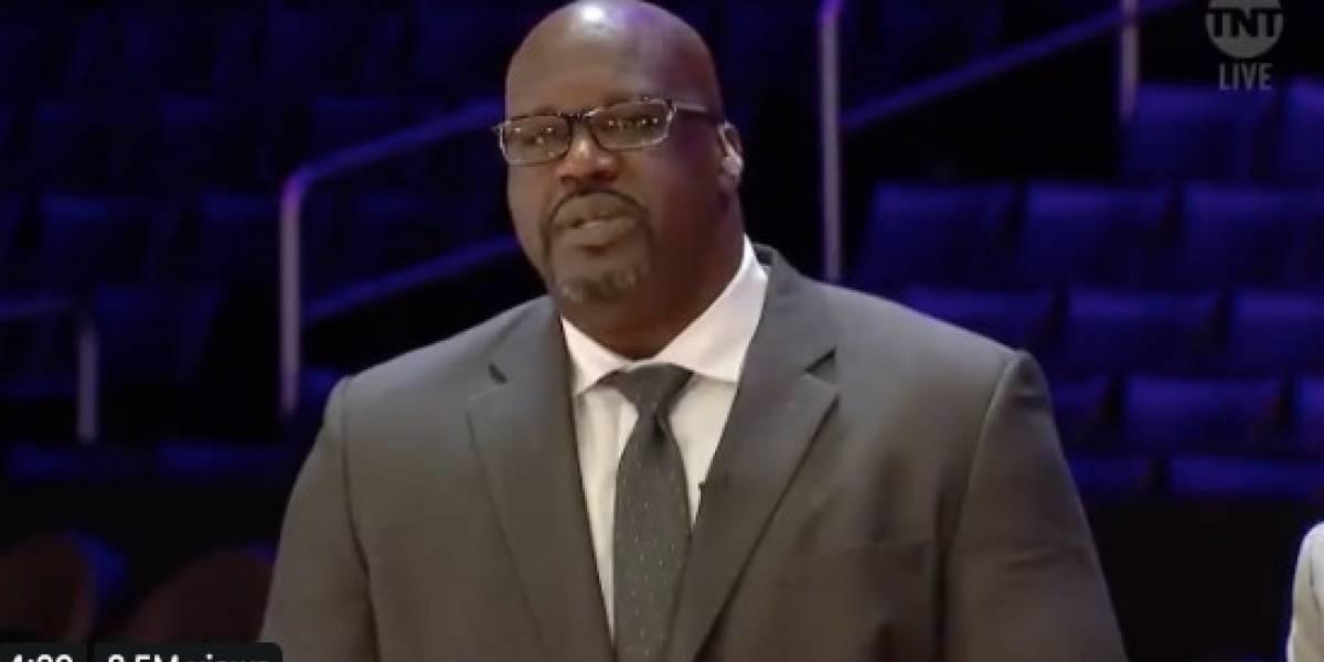 Shaquille O'Neal donará dinero a familiares de víctimas del accidente donde murió Kobe Bryant