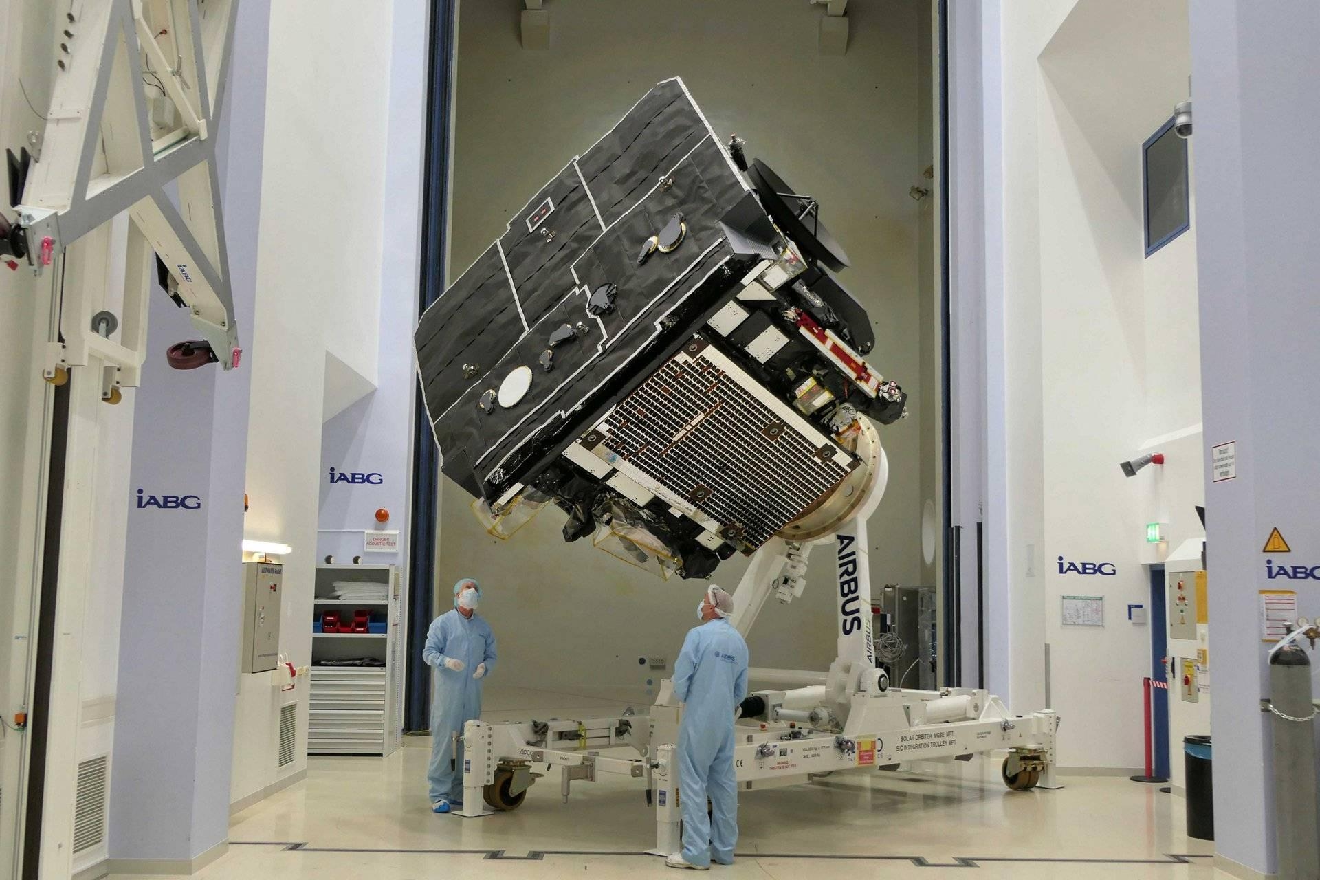 sonda espacial Solar Orbiter
