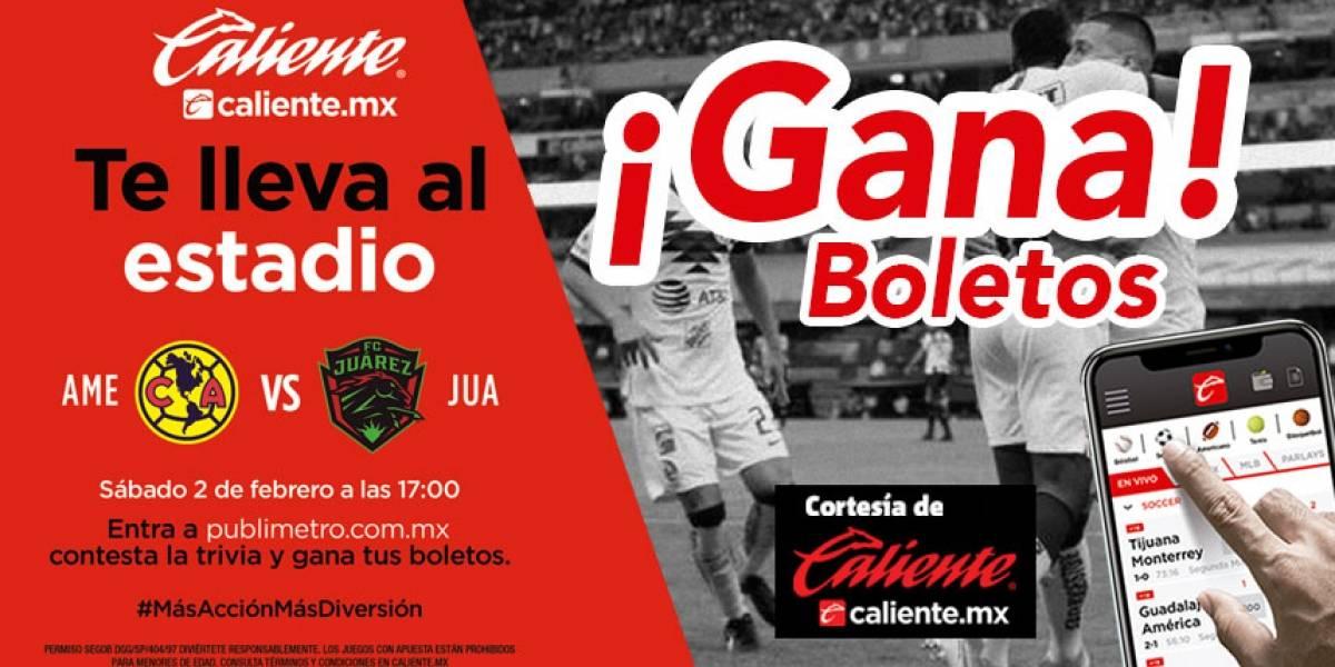 Gana pase doble para el partido América vs Juárez
