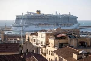 Italia descarta caso de coronavirus en crucero en Civitavecchia