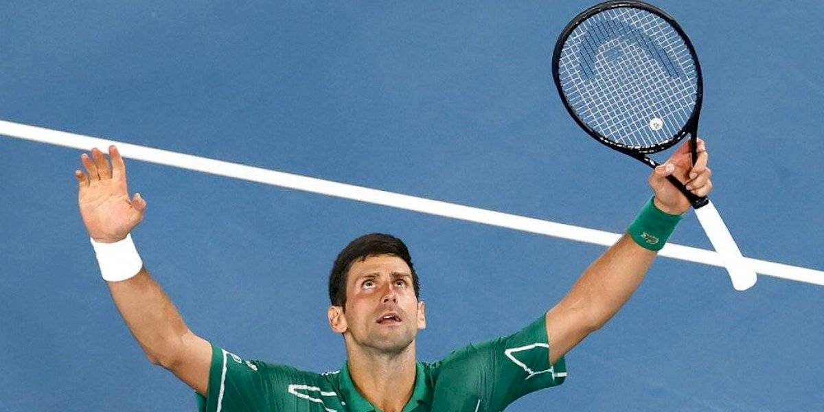 Novak Djokovic disputará final en Australia tras vencer a Roger Federer