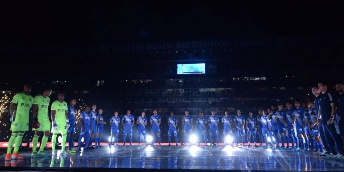 Emelec vs Liga de Portoviejo: pirotecnia, show de láser y los más aplaudidos en la 'Explosión Azul'