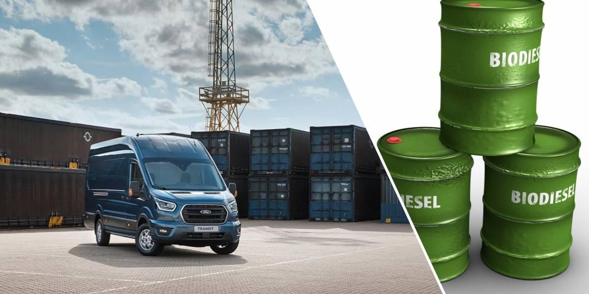 Aceite de cocina como combustible, la nueva opción ecológica en Europa con Ford Transit