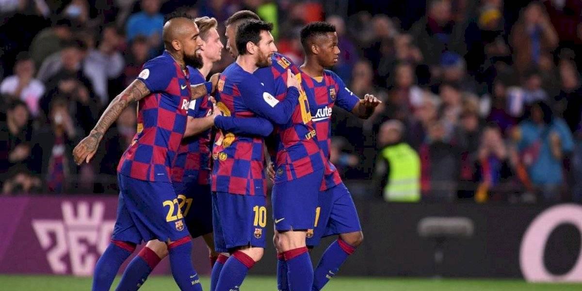 """Prensa alabó primer tiempo de Vidal en victoria del Barcelona: """"Tiene que ser titular incluso con un entrenador de mucha posesión"""""""