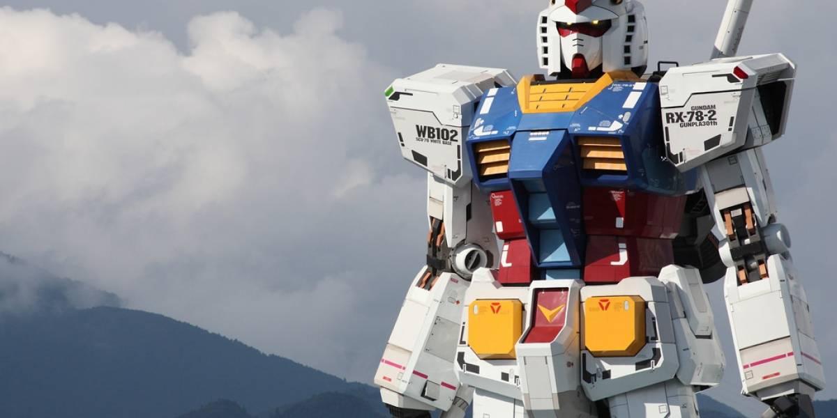 Un robot Gundam de 20 metros podrá caminar en Japón y será la sensación en los olímpicos Tokio 2020