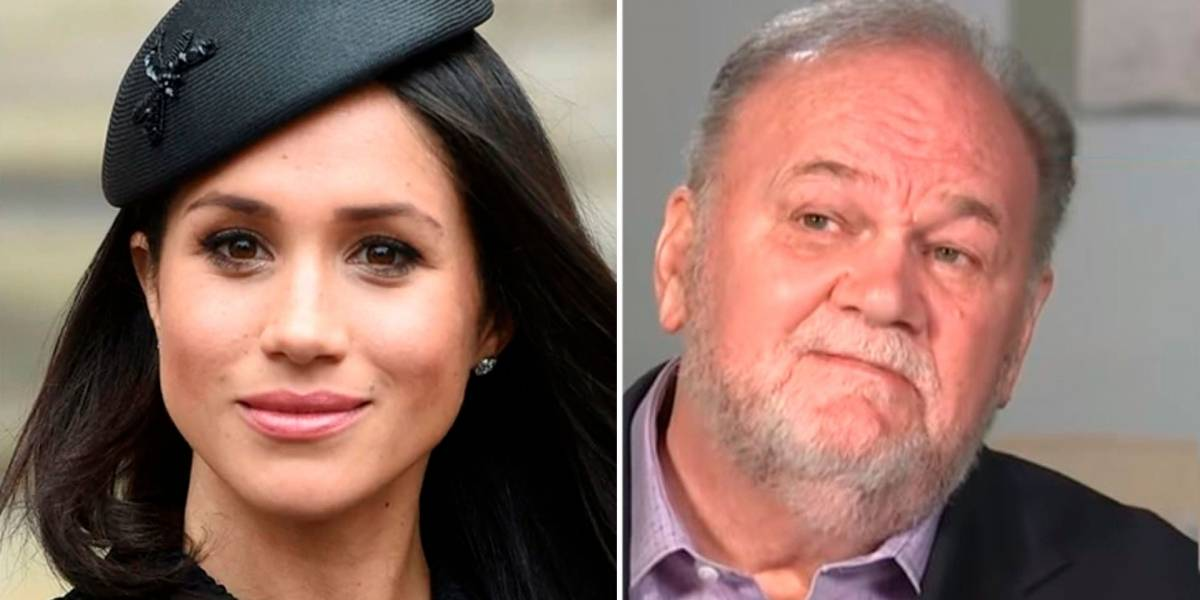 Padre de Meghan Markle filtra video privado de su hija