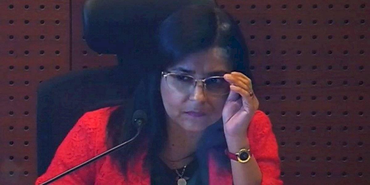 Declaran inadmisible querella del Gobierno por amenazas contra jueza Andrea Acevedo
