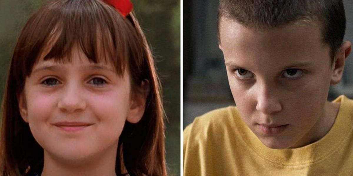"""Basándose en el éxito de Eleven en """"Stranger Things"""": Netflix revivirá a Matilda"""