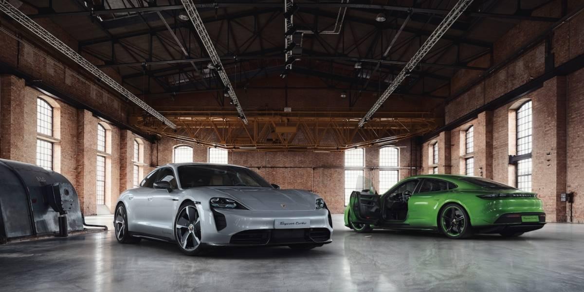 Así puedes personalizar tu Porsche eléctrico, Taycan