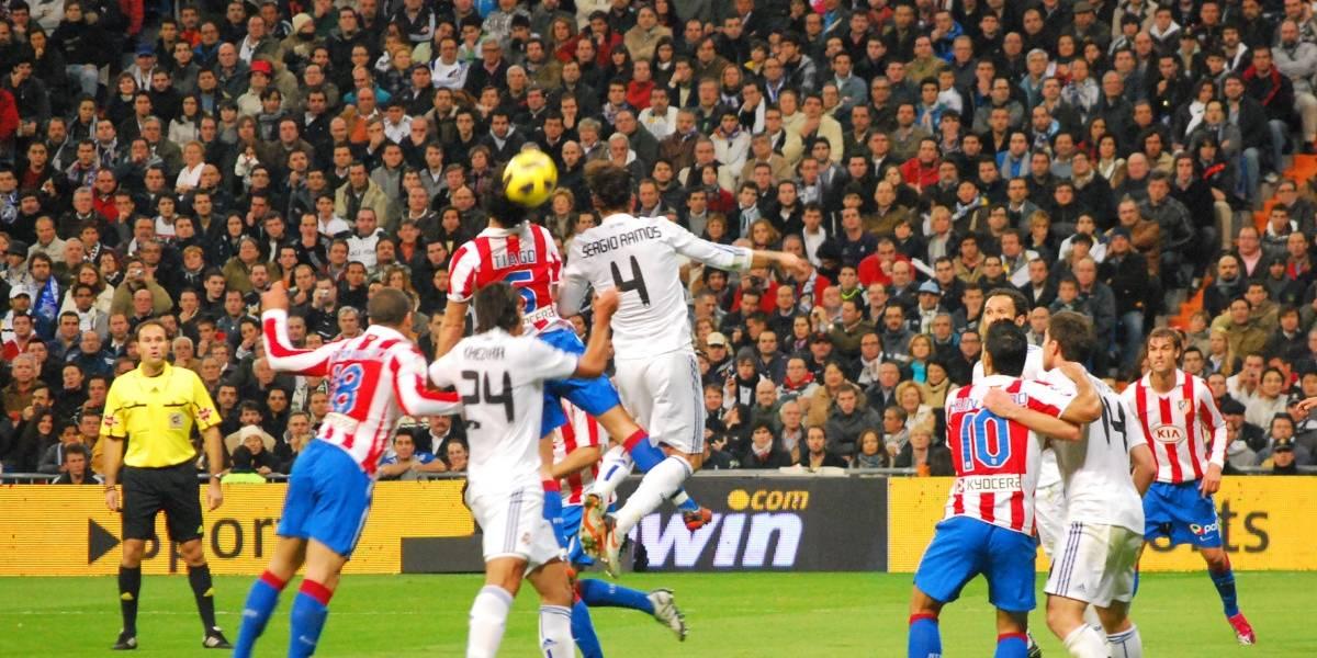 Real Madrid contra Atlético Madrid por La Liga