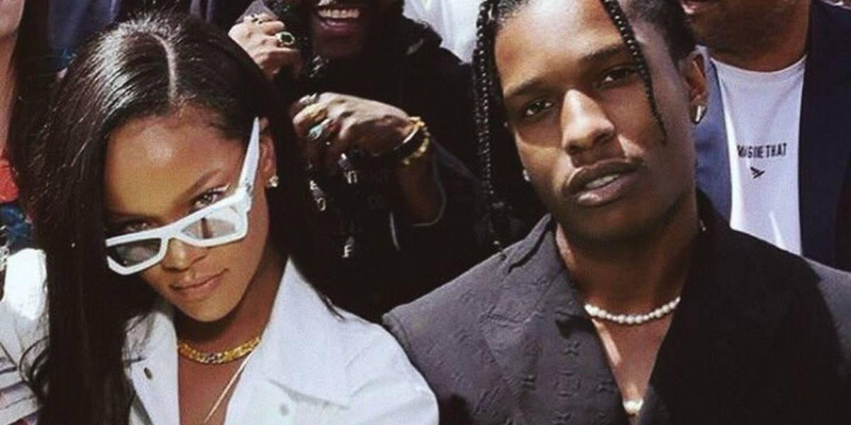 ¡Cambio radical! Conoce a la nueva conquista de Rihanna: el rapero A$AP Rocky