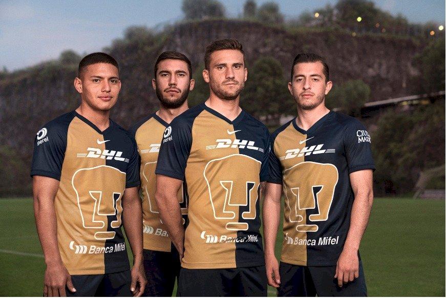 Este será el tercer uniforme del conjunto universitario Pumas