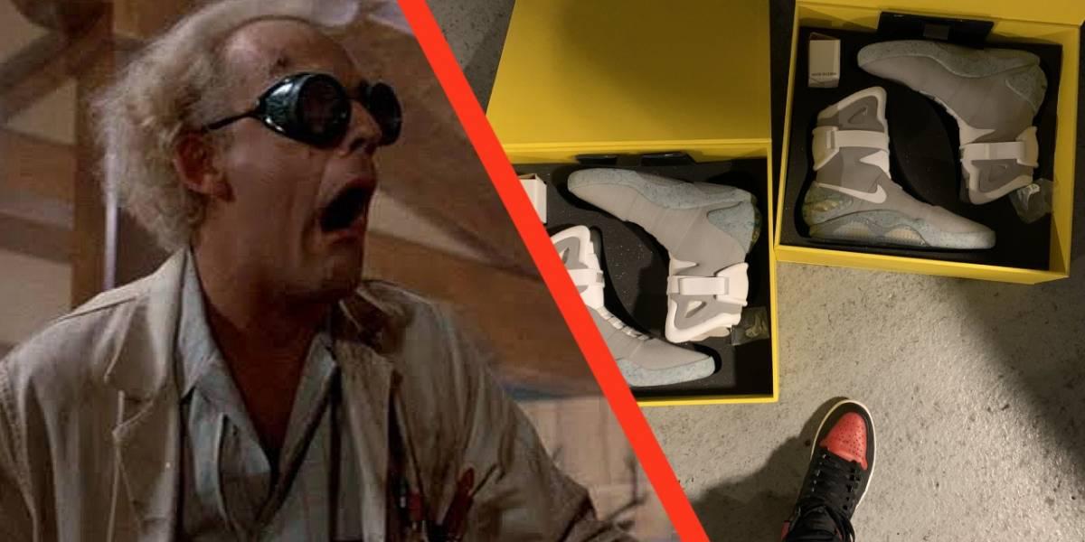 Encuentran 6 pares de Nike Mags, el calzado deportivo de Back to the Future
