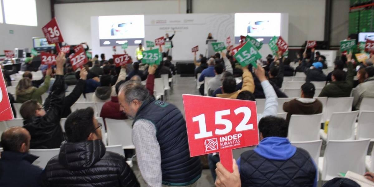 Subasta del INDEP obtiene 30.7 mdp en Nuevo León