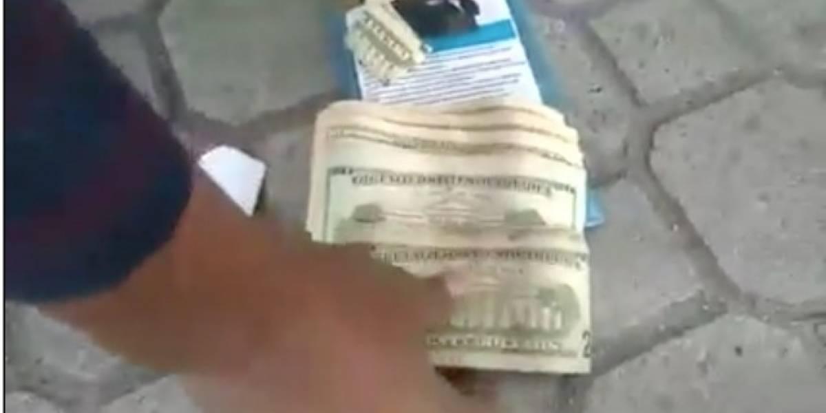 AMT reacciona ante video de agente detenido con más de 600 dólares