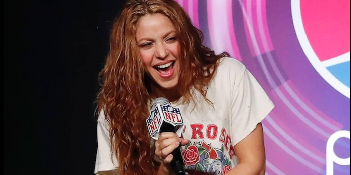 La coreografía que alista Shakira para su presentación en el Super Bowl con Jennifer Lopez