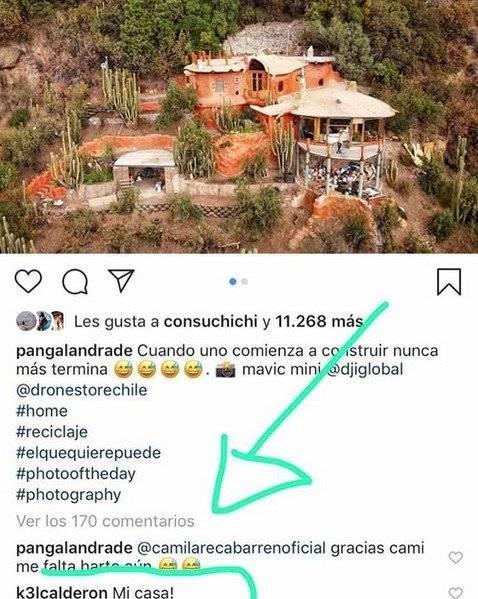 Kel Calderón comenta foto de Pangal