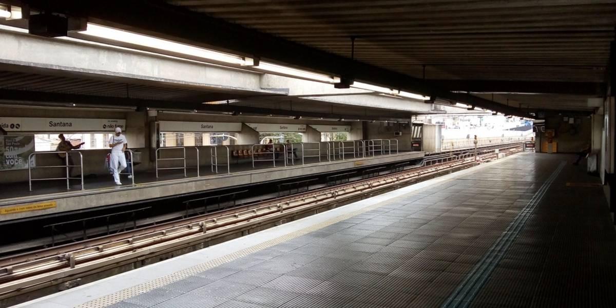 Metrô quer reformar plataforma de quatro estações da linha 1-Azul