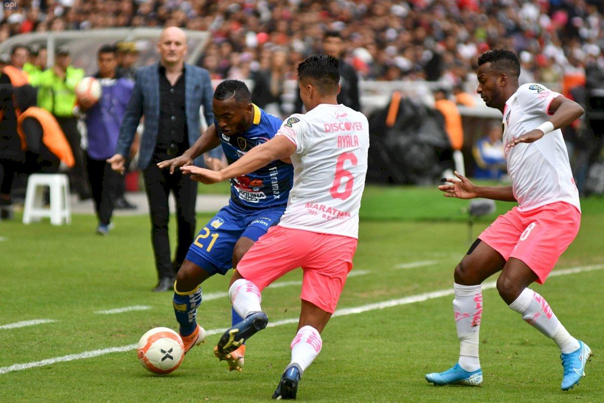 Delfín vs Liga de Quito final de la Copa Ecuador API
