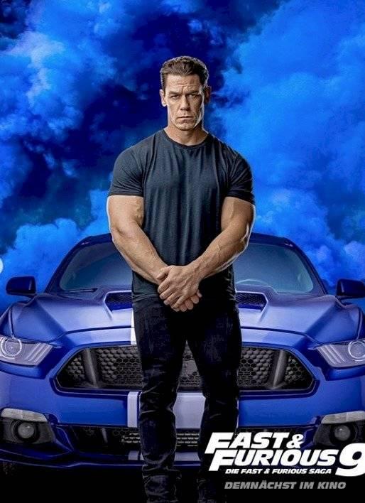 John Cena en Rápido y Furiosos 9