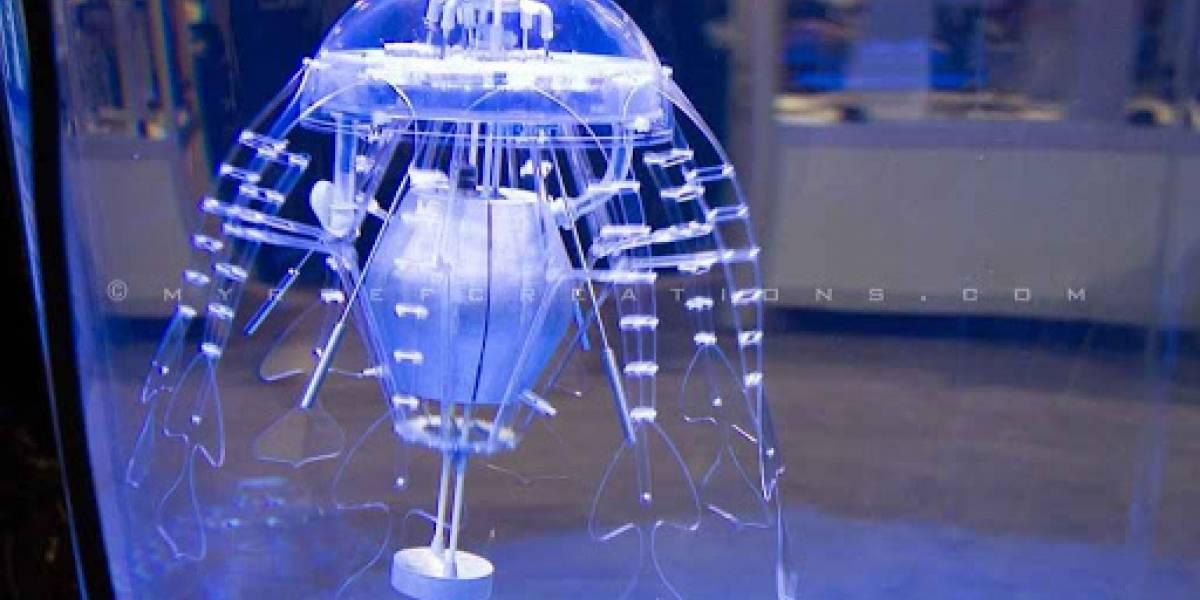 """Científicos crean """"medusas cyborg"""" para investigar los misterios de los océanos"""