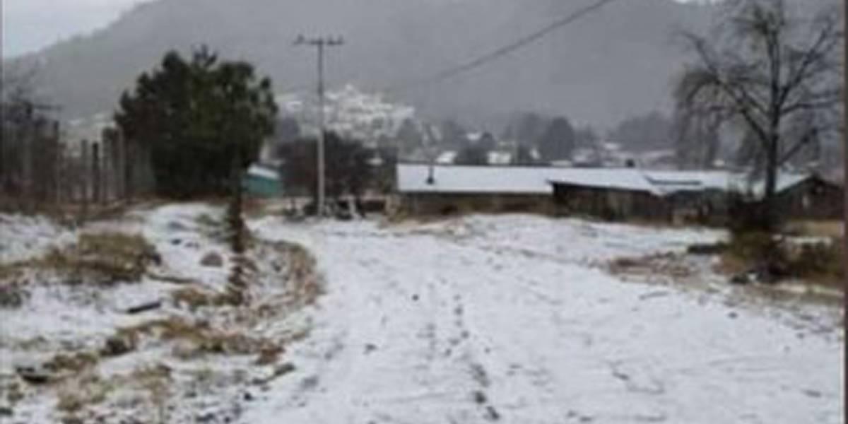 Pronóstico del clima para esta noche 31 de enero: Río Atmosférico genera caída de nieve en México