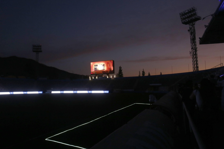 Philips renueva todas las pantallas del Estadio San Carlos de Apoquindo