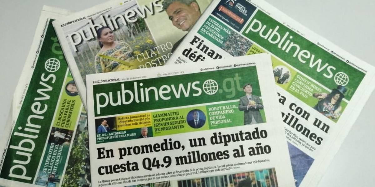Las muestras de cariño de los guatemaltecos para Publinews en su 9no. aniversario