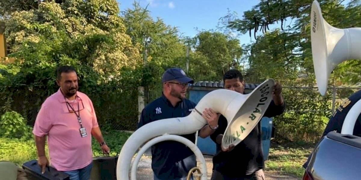 Recuperan instrumentos de la Banda Escolar de Guayanilla