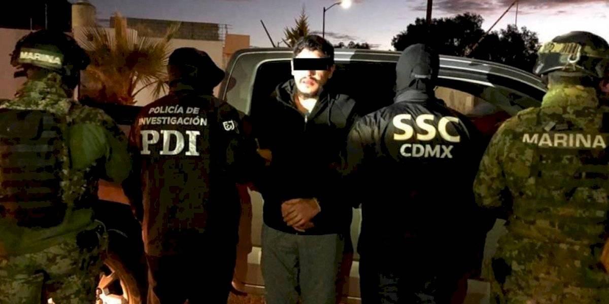 """Detienen a """"El Lunares"""", presunto líder de la Unión Tepito"""