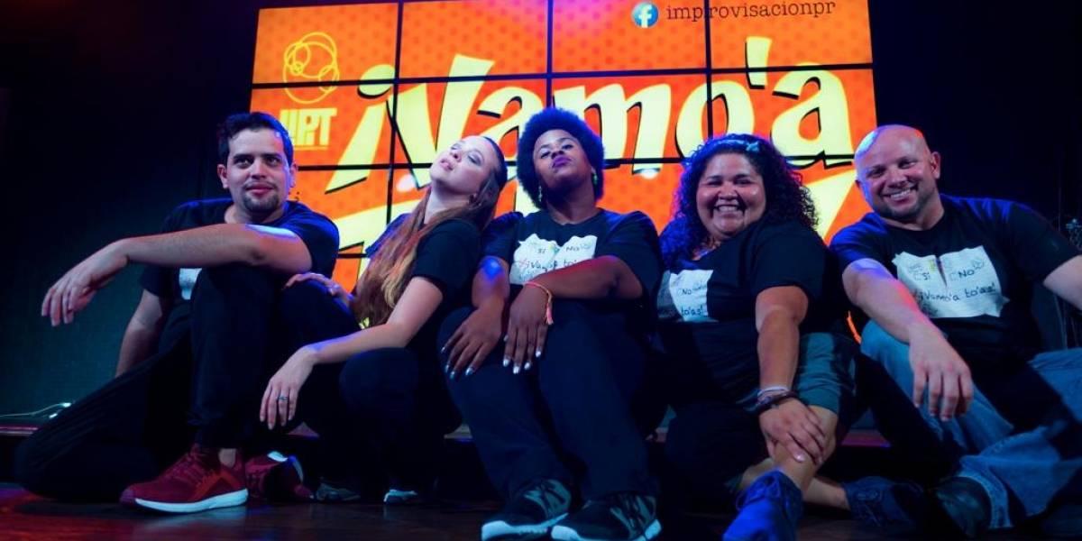 """Liga puertorriqueña de improvisación teatral presenta """"Vamo' a To'as"""""""