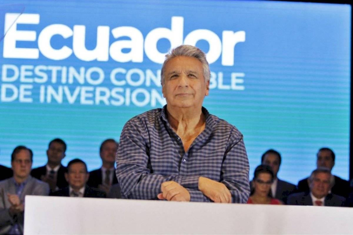 Lenín Moreno dijo que las mujeres son selectivas en los casos de acoso sexual Twitter Presidencia