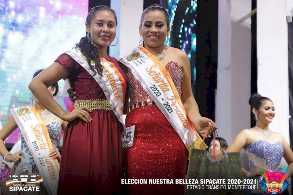 Amanda Monterroso, candidata a reina de Sipacate