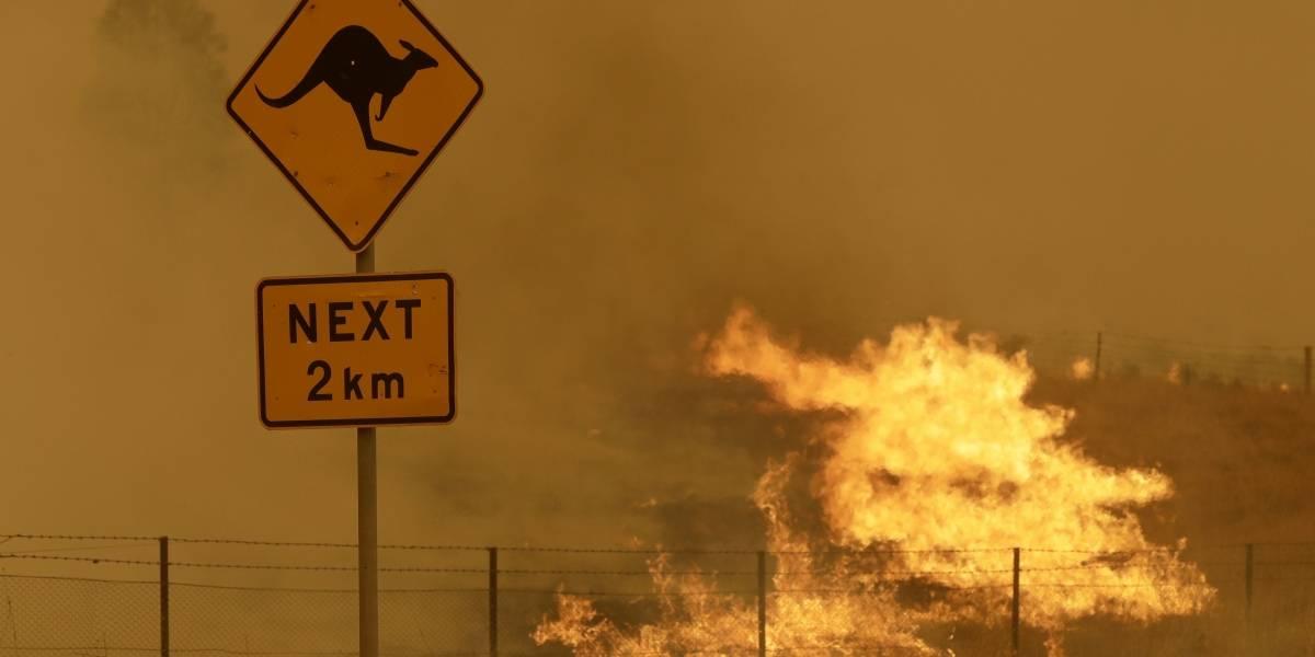 Nuevos incendios amenazan la capital de Australia y pueblos del sureste