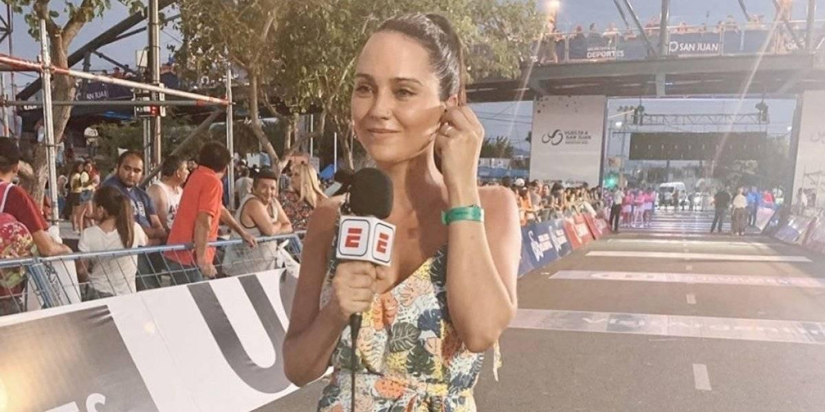 Ex ciclista desata polémica tras comentario sexista a reportera